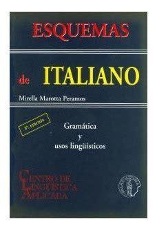 Esquemas De Italiano Gramatica Y Usos Linguisticos
