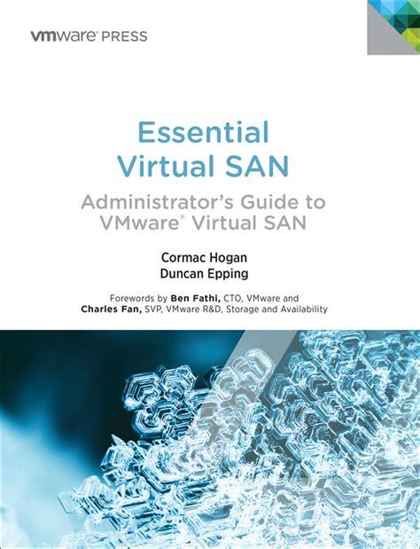 Essential Virtual San Vsan Adminis