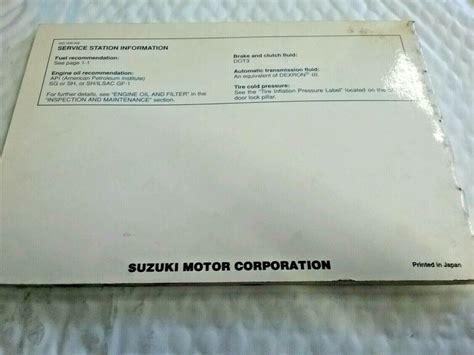 Esteem Owners Manual