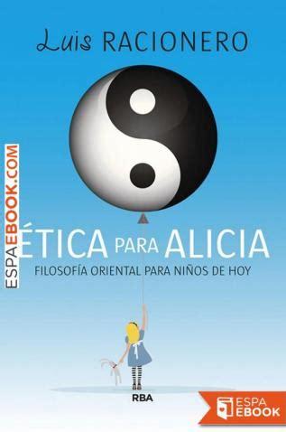 Etica Para Alicia Filosofia Oriental Para Jovenes