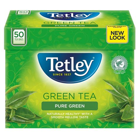Etley Green Tea Lem 50 Bags 100g