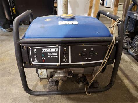 Etq Tg3000 Generator Manual