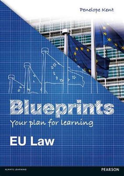 Eu Law Blueprints Eu Law