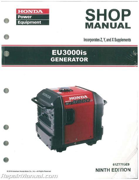 Eu3000is Shop Manual