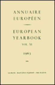 European Yearbook / Annuaire Europeen, Volume 60a (2012)
