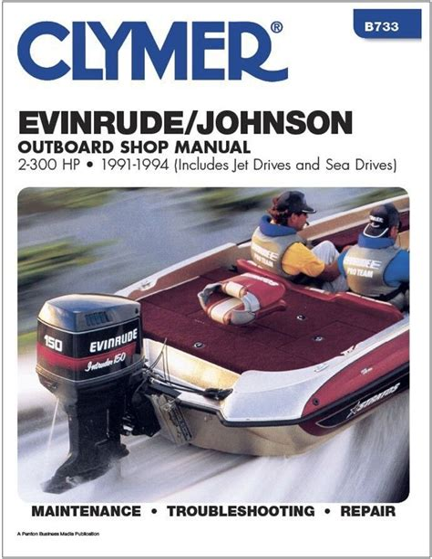 Evinrude Johnson Outboard Shop Manual