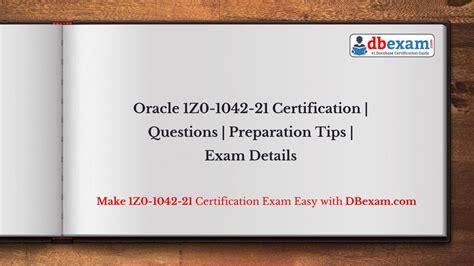 Exam 1Z0-1064-21 Online
