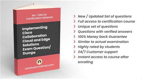 Exam 300-820 Flashcards