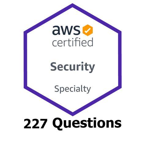 Exam AWS-Security-Specialty Fees