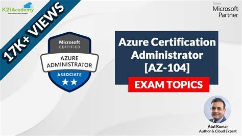 Exam AZ-104 Reviews