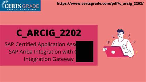 Exam C-ARCIG-2102 Consultant