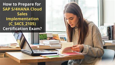 Exam C_THR97_2105 Revision Plan