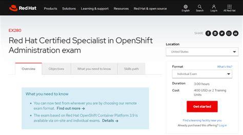 Exam EX280 Fees