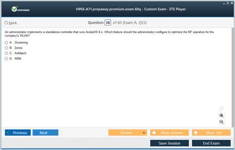 Exam HPE6-A71 Quiz