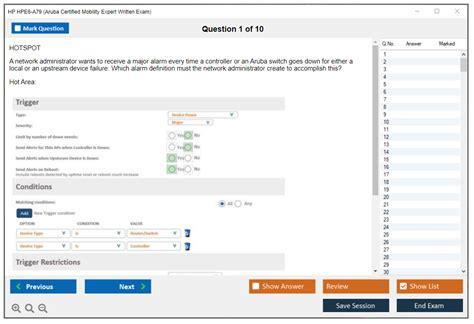 Exam HPE6-A79 Preparation