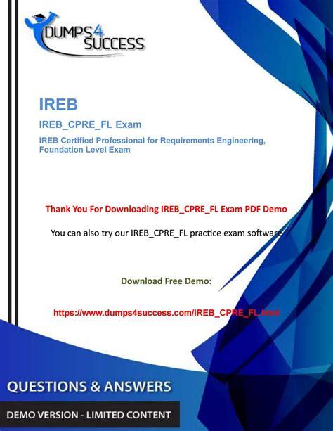 Exam IREB_CPRE_FL Reviews