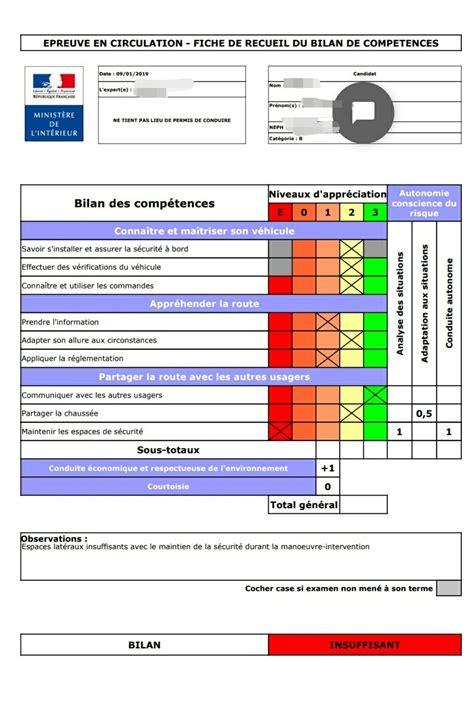 Examen Pour Permis De Conduire