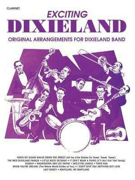 Exciting Dixieland Clarinet