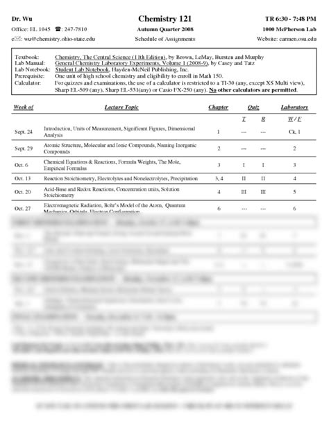Experiments For General Chemistry Lab Manual Answers Dr Udovich
