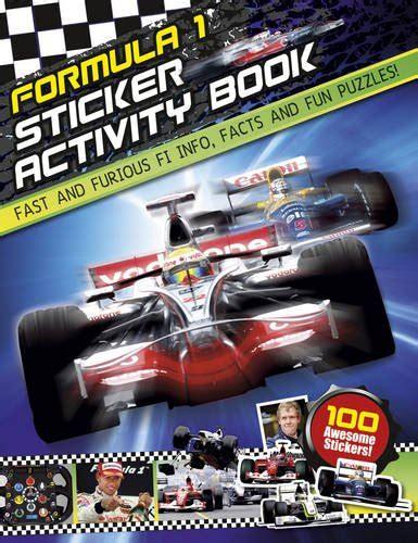 F1 Sticker Activity Book