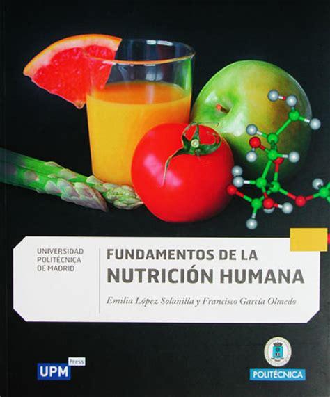FUNDAMENTOS DE NUTRICIÓN (MATERIALES DIDACTICOS UNIVERSITARIOS)