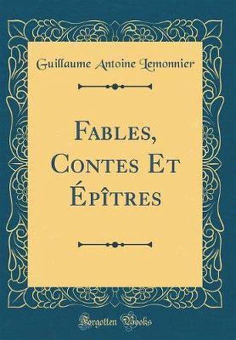 Fables Et Contes Classic Reprint