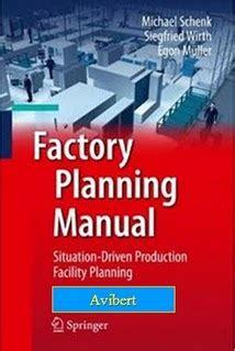 Factory Planning Manual Schenk Michael Wirth Siegfried Mller Egon
