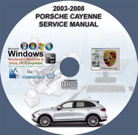Factory Repair Manual Porsche Cayenne