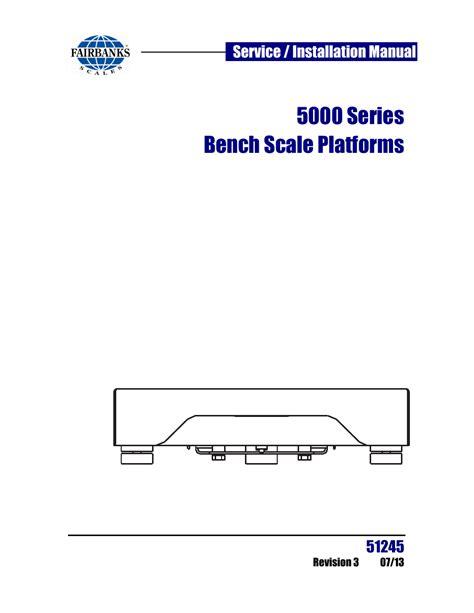 Fairbanks Hr 5000 Owners Manual