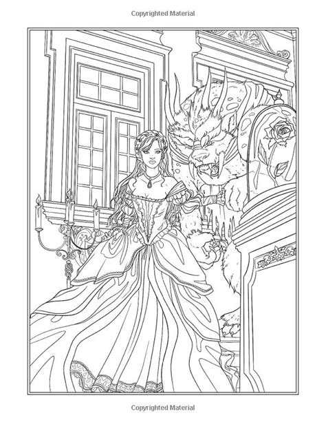 Fairy Tales Princesses And Fables Coloring Book Fantasy Coloring By Selina