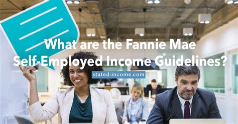 Fannie Guide On Self Employed 2016