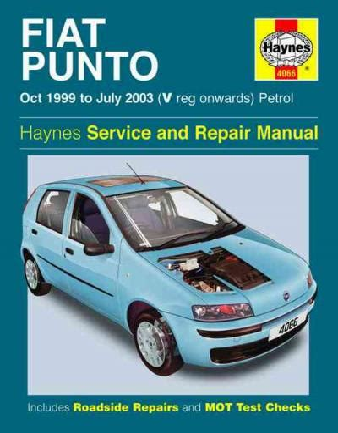 Fiat Punto Haynes Manual 2017