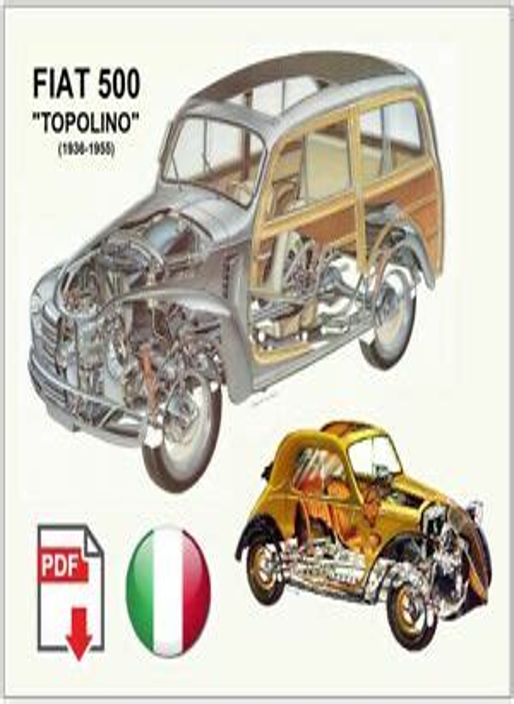 Fiat Topolino Workshop Manual