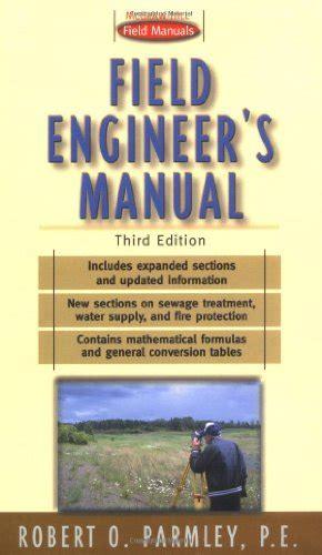 Field Engineers Manual Portable Engineering S