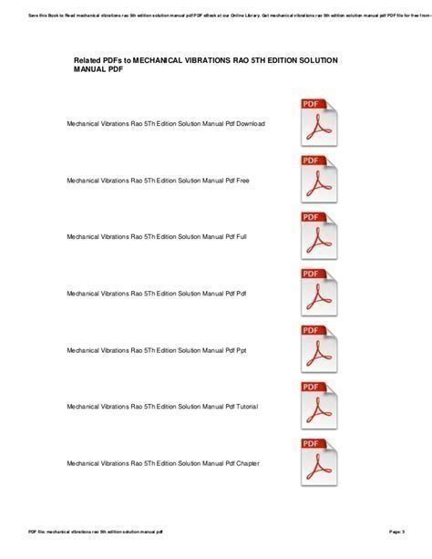 Figliola Mechanical Measurements Solution Manual 5th Edition