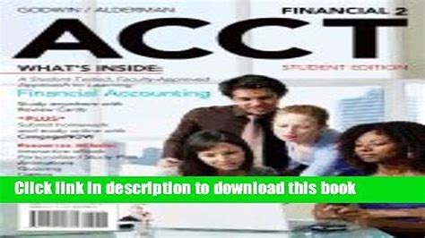 Financial Accounting 2 Godwin And Alderman Answers