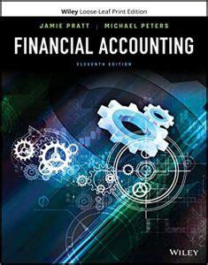 Financial Accounting Jamie Pratt Solutions Manual