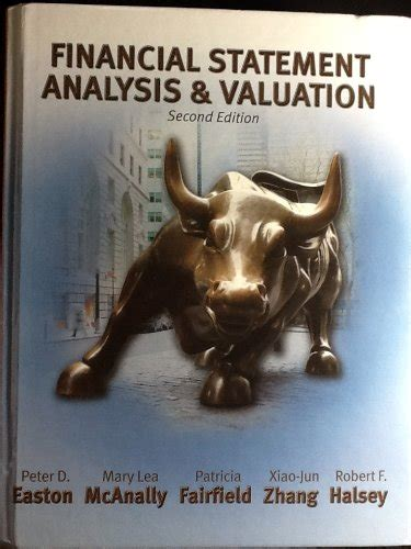 Financial Analysis And Valuation Solution Manual