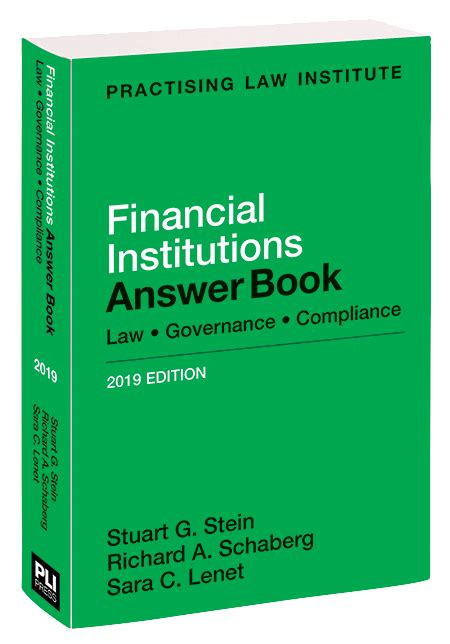 Financial Institutions Answer Book 2015 Law Governance Compliance