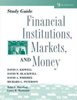 Financial Markets And Institutions Study Guide
