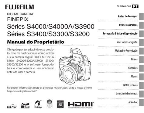 Finepix S4000 Manual Em Portugues