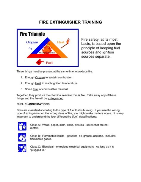 Fire Department Training Manual