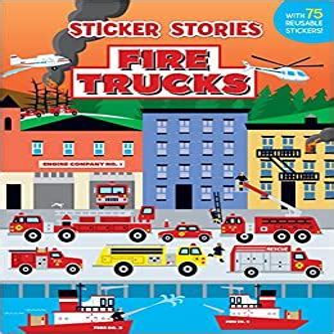 Fire Trucks Sticker Stories