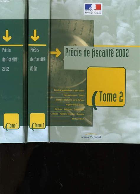 Fiscalite Pratique 2002