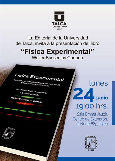 Fisica Experimental Libros De Texto