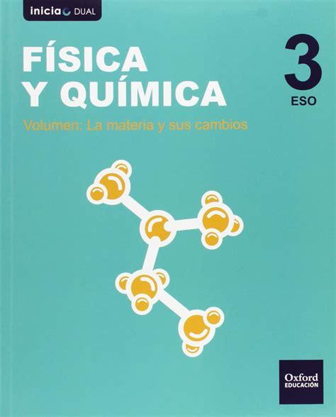 Fisica Y Quimica 3o Eso
