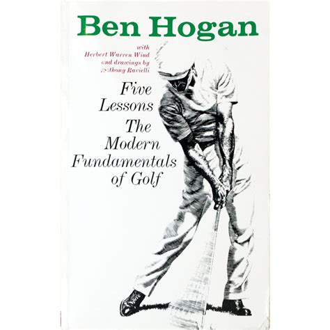 Five Lessons The Moderns Fundamentals Of Golf