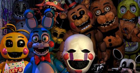 Five Nights At Freddy S The Servant