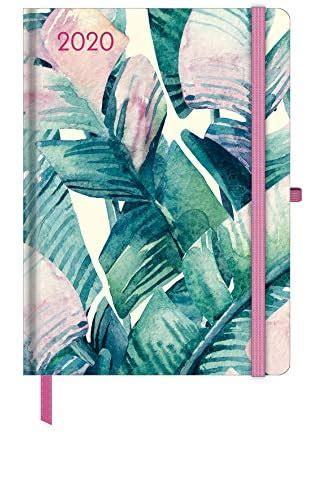 Floral 2020 GreenLine Taschenkalender/Diary klein: Buchkalender - Wochenkalender
