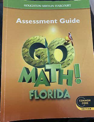 Florida Assessment Guide 5 Grade Go Math